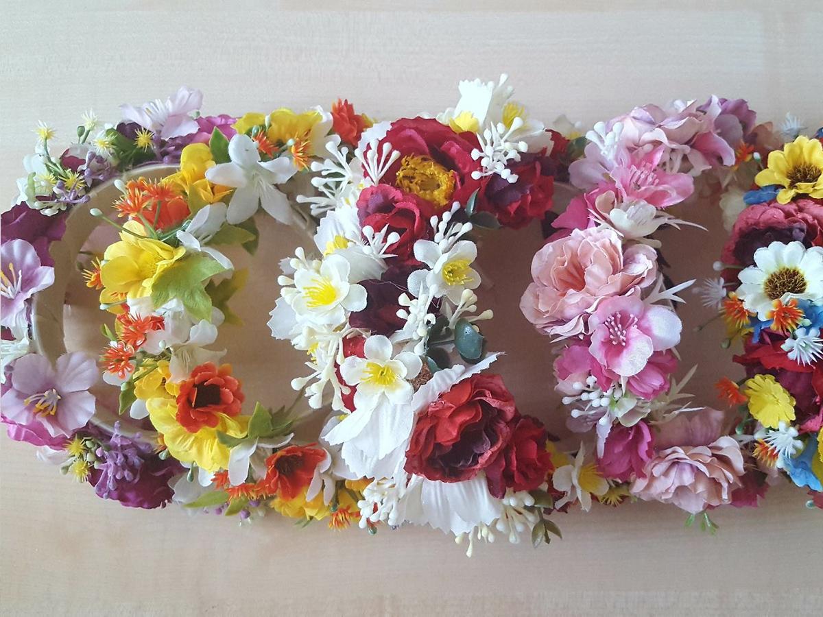 Kvetinové čelenky